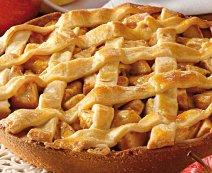 Rácsos almatorta