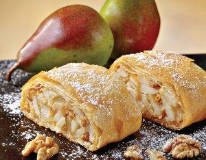 Diós–almás rétes