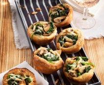 Leveles tészta muffin