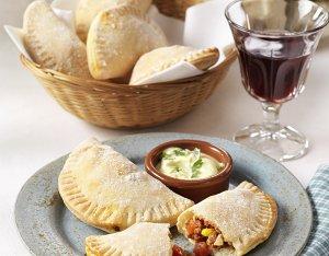 Empanadas – Spanyol tésztatáskák