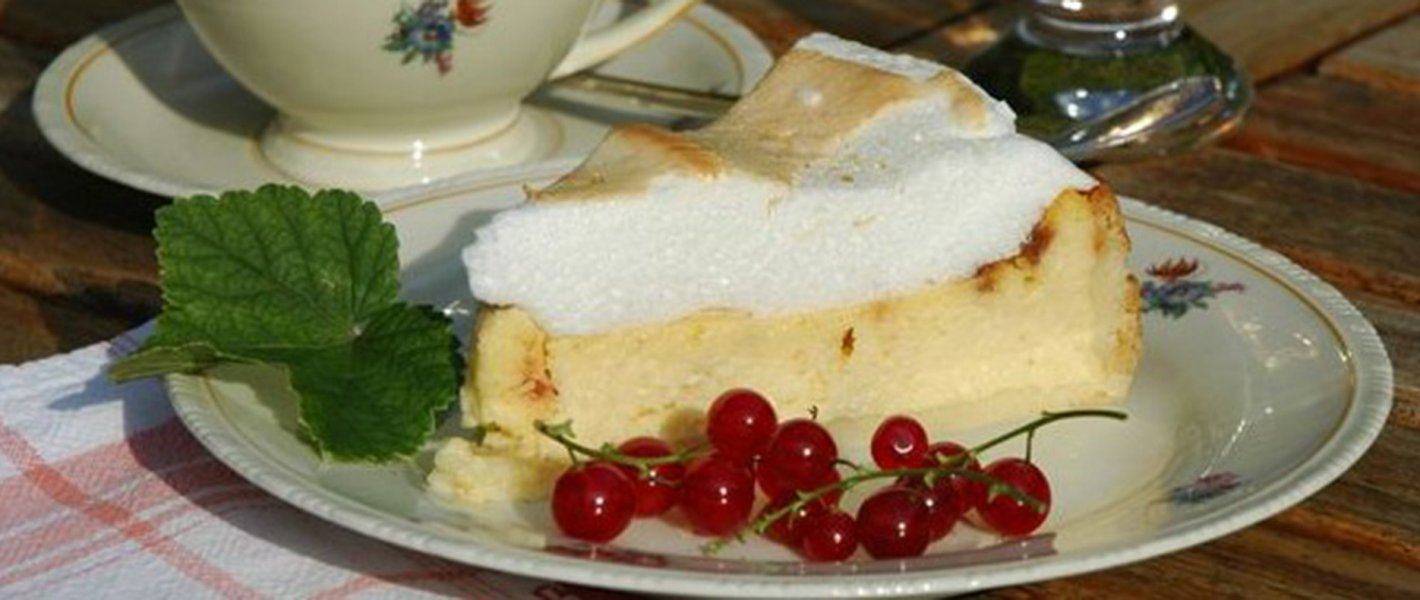 Vaníliás torta habbal