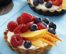 Bodzavirágos tortácskák