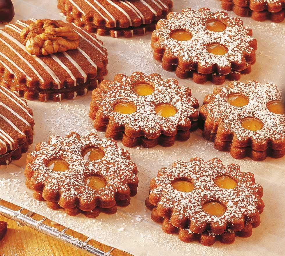Isler – Tante Fanny friss csokoládés linzertésztából