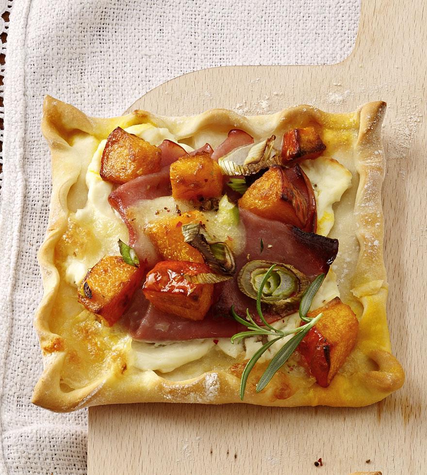 Tökös – mozzarellás pizza