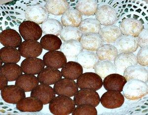 Angyali csokigolyók