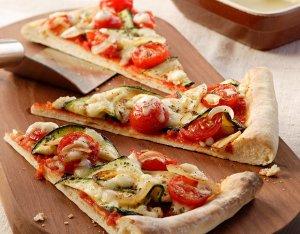 Mediterrán pizzaszeletek