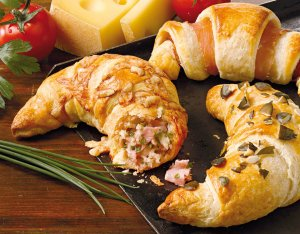 Pikáns kifli – croissant