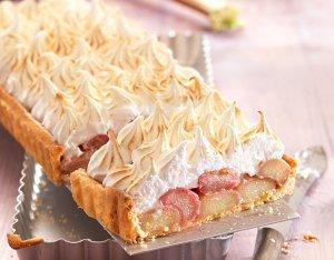 Rebarbara torta habbal