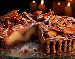 Körtés-csokis torta