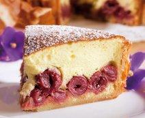 Cseresznyés – túrós torta