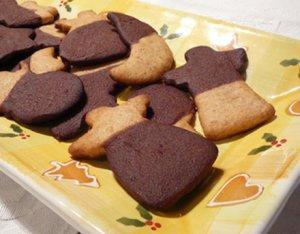 Sárga – barna karácsonyi linzer