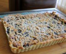 Morzsás áfonyás – joghurtos sütemény