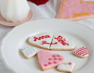 Valentin napi kekszek