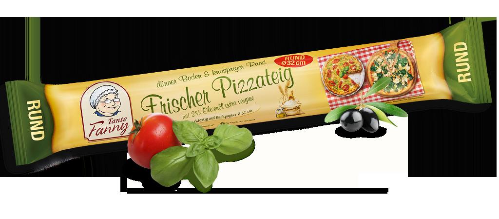 Friss kerek pizzatészta