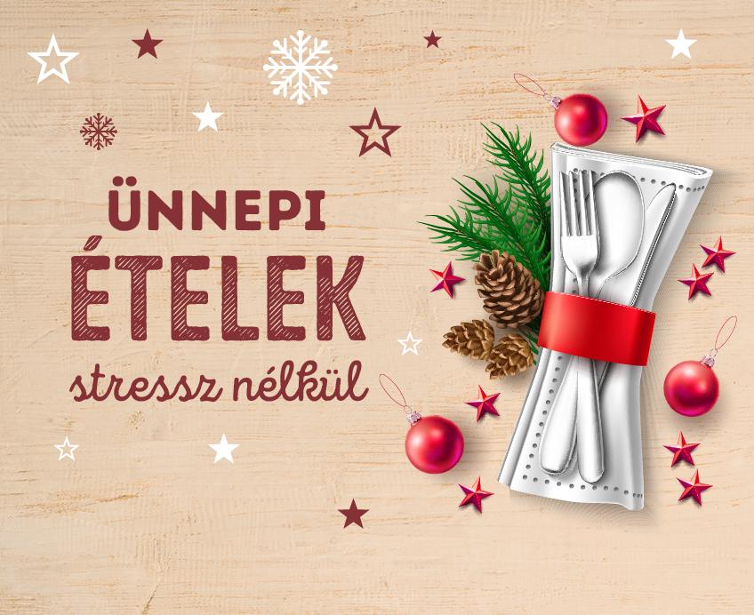 Stresszmentes karácsonyi receptek
