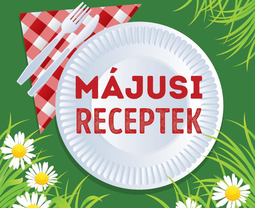 Szezonális receptek májusra