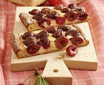 Cseresznyés vaníliás sütemény