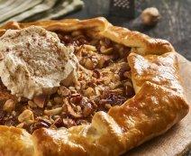 Almás galette fagyival