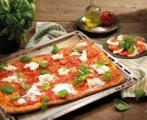 Pizza bivaly mozzarellával