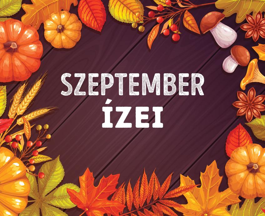 12 recept szeptemberre
