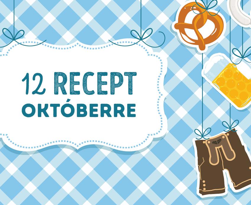 12 recept októberre