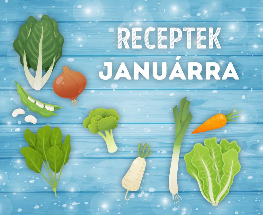 Szezonális receptek januárra