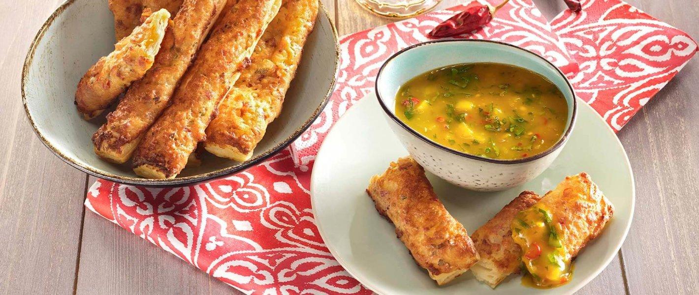 cheddar-sajtos chili rudak