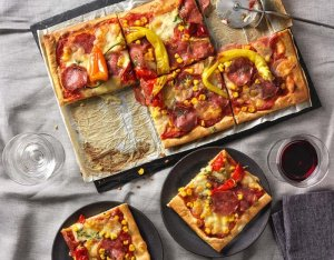 Ördögien csípős pizza