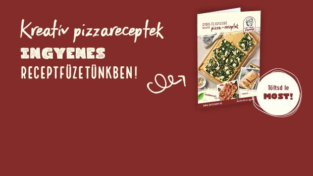 Pizza receptfüzet letöltés
