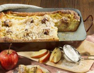 Almás rakott tészta