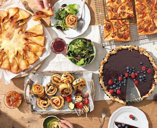 Snack és parti-falatok