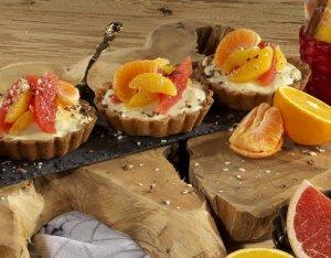 Citrusos-vaníliás tortácskák